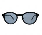 KANEKO OPTICAL(金子眼鏡)の古着「サングラス」 ブラック×ブルー