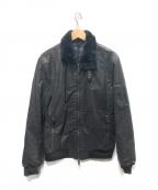 ARMANI JEANS(アルマーニジーンズ)の古着「ブルゾン」|ブラック