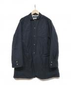 PHINGERIN(フィンガリン)の古着「TECH LONG BLAZERコート」|ブラック