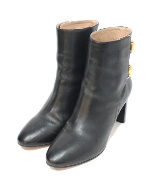Chloe(クロエ)Chloe (クロエ) ショートブーツ ブラック サイズ:36 1/2の古着・服飾アイテム