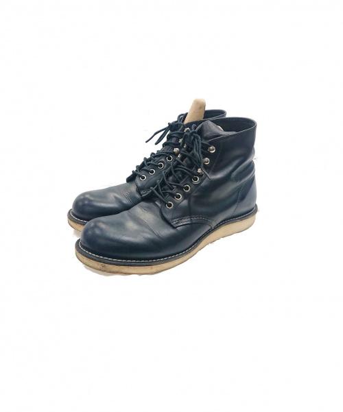 RED WING(レッドウィング)RED WING (レッドウィング) ブーツ ブラック サイズ:US8 8165の古着・服飾アイテム