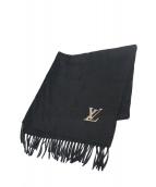 ()の古着「カシミヤストール」|ブラック