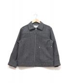 ()の古着「ZENレタリングプリントジャケット」|グレー