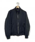 COMME des GARCONS HOMME(コムデギャルソン オム)の古着「ジップアップジャケット」 ブラック