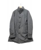 MONCLER(モンクレール)の古着「ダウンライナーウールコート」|グレー