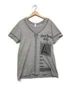 TAKAHIROMIYASHITA TheSoloIst.()の古着「半袖Tシャツ」|グレー