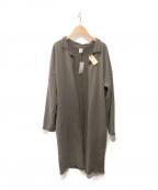 LAppartement(アパルトモン)の古着「スウェットガウンコート」|ブラウン