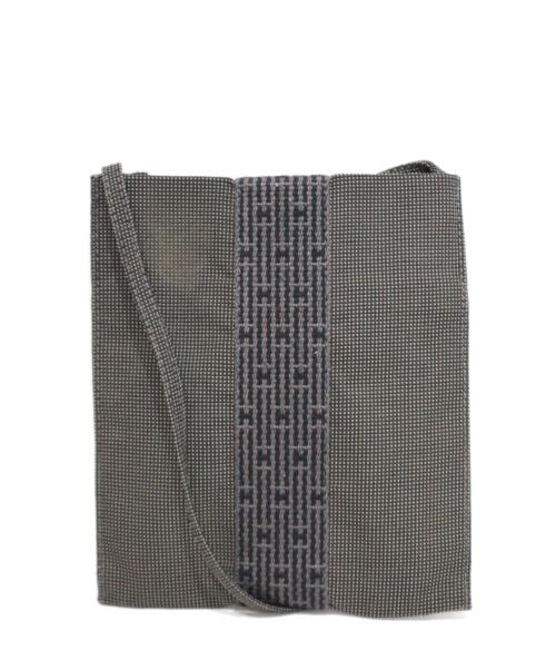HERMES(エルメス)HERMES (エルメス) ショルダーポーチポシェット グレー エールラインの古着・服飾アイテム