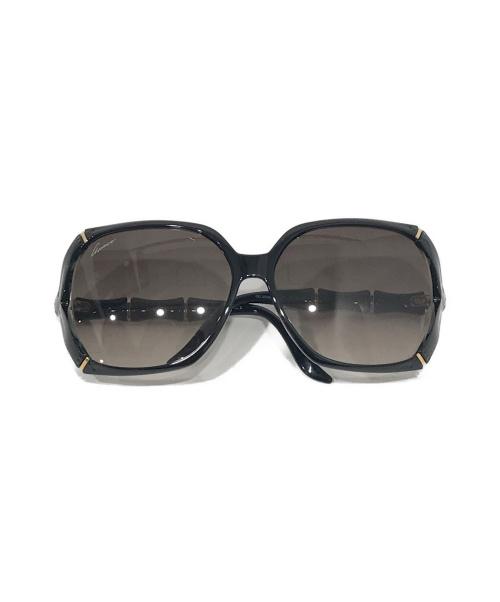 GUCCI(グッチ)GUCCI (グッチ) サングラス ブラック サイズ:58□16 バンブーの古着・服飾アイテム