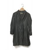 JIL SANDER(ジルサンダー)の古着「トレンチコート」|ブラック