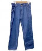 PHERROWS(フェローズ)の古着「ペインターデニムパンツ」|インディゴ