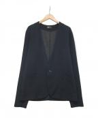 KOLOR(カラー)の古着「ノーカラージャケット」|ネイビー