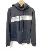N°21(ヌメロヴェントゥーノ)の古着「プルオーバーパーカー」|ブラック