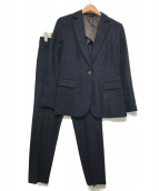 MACKINTOSH LONDON(マッキントッシュ ロンドン)の古着「ウールセットアップスーツ」|ネイビー