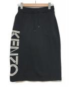 KENZO(ケンゾー)の古着「スウェットタイトスカート」|ブラック