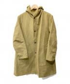 STEVEN ALAN()の古着「フーデッドコート」|カーキ