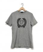 VERSACE(ヴェルサーチ)の古着「メデューサプリントTシャツ」|グレー