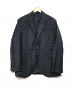 NEIL BARRETT(ニールバレット)の古着「ストレッチマットナイロンジャケット」 ネイビー