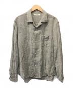 nestrobe confect(ネストローブ コンフェクト)の古着「リネンシャツ」 ベージュ