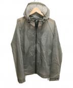 HUNTER(ハンター)の古着「スケルトンフーデッドジャケット」|グレー