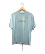 MINDSEEKER(マインドシーカー)の古着「半袖カットソー」|スカイブルー
