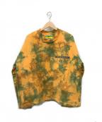 MINDSEEKER(マインドシーカー)の古着「総柄スウェット」|オレンジ