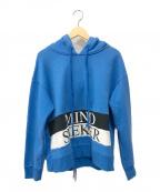 MINDSEEKER(マインドシーカー)の古着「プルオーバーパーカー」|ブルー
