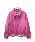 BLUE LABEL CRESTBRIDGE()の古着「ブルゾン」 ピンク