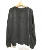 N°21(ヌメロヴェントゥーノ)の古着「ロゴスウェット」|ブラック