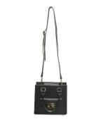 MARCO BIANCHINI(マルコビアンチーニ)の古着「2WAYバッグ」|ブラック
