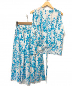 SACRA(サクラ)の古着「セットアップ」|ホワイト×ブルー