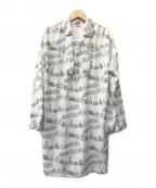 PLAIN PEOPLE(プレインピープル)の古着「ブラウスワンピース」|ホワイト