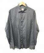 ARMANI COLLEZIONI(アルマーニ コレツィオーニ)の古着「シャツ」 グレー