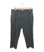 ()の古着「TRIM FIT PANTS」|ブラック