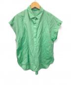 MACKINTOSH LONDON(マッキントッシュ ロンドン)の古着「POシャツ」 グリーン