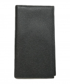 BVLGARI(ブルガリ)の古着「2つ折り財布」 ブラック