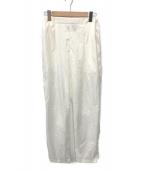 ()の古着「GATHRED PANTS」|ホワイト