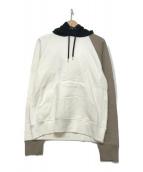 ()の古着「multi color pullover hoodie」|ホワイト