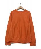 ()の古着「スウェット」|オレンジ