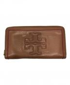 TORY BURCH(トリーバーチ)の古着「長財布」 ブラウン