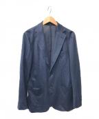 SOVEREIGN(ソブリン)の古着「リネンカノコ3Bジャケット」|ネイビー