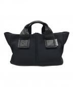 Kawakawa()の古着「WETミニトートバッグ」|ブラック