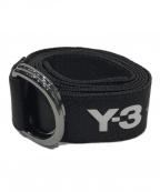 Y-3(ワイスリー)の古着「ダブルリングベルト」|ブラック