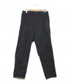 s'yte(サイト)の古着「タックパンツ」 ブラック