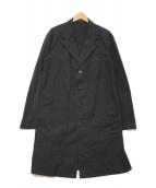 ()の古着「ショップコート」 ブラック