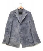 ()の古着「ウールジャケット」 ブルー