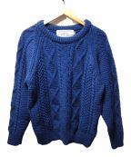 oldderby Knitwear()の古着「クルーネックニット」|ブルー