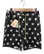 SOPH.()の古着「STAR PT. Shorts」|ブラック×ホワイト