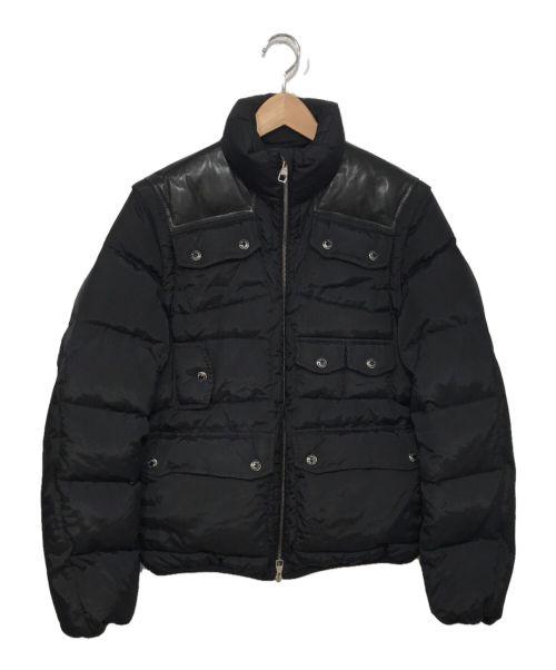LOUIS VUITTON(ルイ ヴィトン)LOUIS VUITTON (ルイ ヴィトン) 2wayダウンジャケット ブラック サイズ:44の古着・服飾アイテム