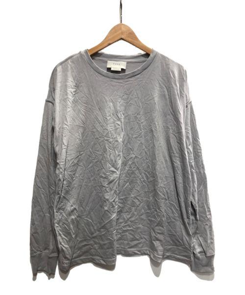 YOKE(ヨーク)YOKE (ヨーク) パイピングカットソー グレー サイズ:Mの古着・服飾アイテム